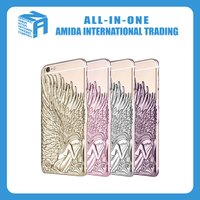 The wings of an angel design pc cell phone cases
