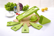 2015 factory new style 5 in 1 saftest vegetable spiral slicer