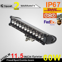 LOWEST PRICE ON ALIEXPRESS!!!12/14 inch 60W driving led light bar spot flood combo work Offroad SUV ATV Wholesale
