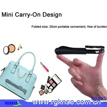 Pocket size monopod , tripod, carabiner, led flash, zoom handle ,charge cable,wideangle lens selfie stick