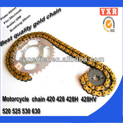 hot sale chain motorcycle,motorcycle kit transmission, best motorcycle chain
