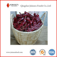 Natural air dried red yidu chili pods