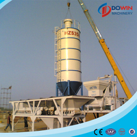 concrete batching plant on sale with design layout