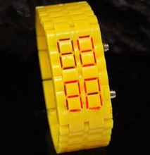 Chrismtas Gift plastic lava watches pilot watch