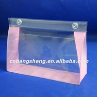 High Quality personalized pvc clear promotion cosmetic bag