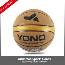 Top grade basketball balls accessories YONO YN-801-2 customize your own basketball pu leather balls