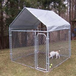 Alibaba high security large dog kennel/welded 5*10*6 dog kennel