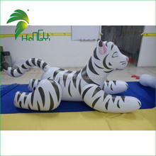 Factory Price Custom Inflatable Tiger Model, Avertising PVC Inflatable Tiger Cartoon Model