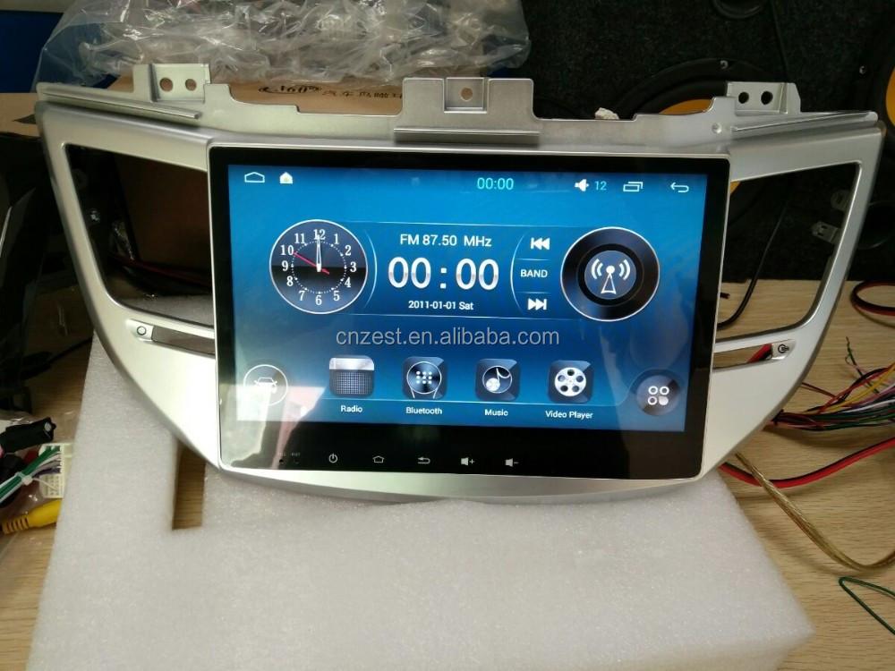 oem accept android gps car navigator  hyundai tucson ix  auto radio multimedia