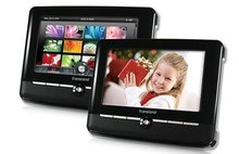 Transcend T.Photo 720 Digital Photo Frame - 2GB (Black)