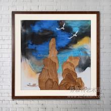 2015O Original Design Framed Fine Decoration Art Painting Hot Selling
