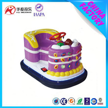 2015 China manufacturer lots type new products electric cake bumper car