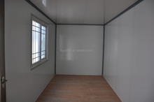 container sample house inside view