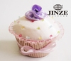 Mini delicate custom printed decorative cupcake boxes for wholesale