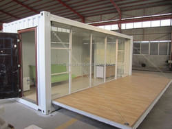 customerized transformed 20'ft shipping container homes