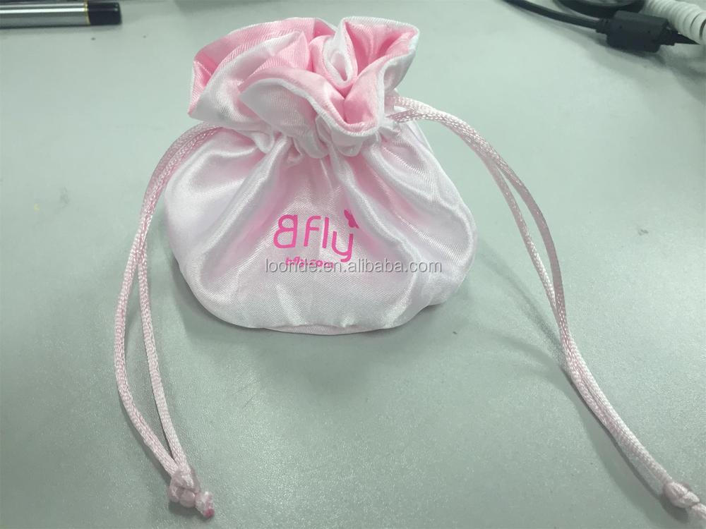 Round bottom satin fabric drawstring jewelry pouch pattern for Drawstring jewelry bag pattern