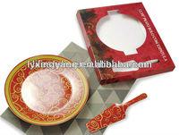 cheap ceramic plates, ceramic pizza plate design, watermelon ceramic plate