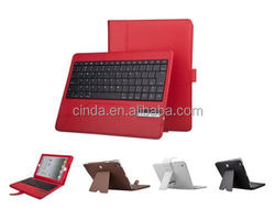 Removeable Bluetooth Keyboard Leather Stand Case FOR iPad 2 3 4 New 9.7 inch Folio Cover