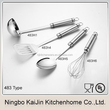KJ-HH110 stainless steel utensil soup and frying ladle