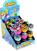 COSBY SURPRISE BALL BUBBLE GUM WITH TOYS