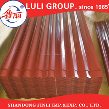 roof heat insulation materials, galvanized corrugated steel sheet