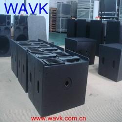 "2*10"" neodymium woofer wavk active mini line array speaker small line array system"