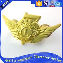 eagle wing metal badges /eagle pin badges