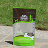 stand up coffee zip lock pouch with top tear notch