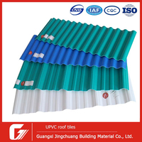 0.7mm to 3.0mm lightweight pvc plastic roof panel /discount corrugated roof sheet/kerala roof tile prices