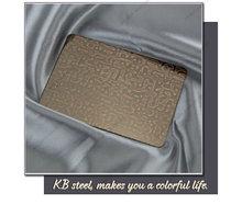 Customer like embossed stainless steel sheet Chinese company steel plate