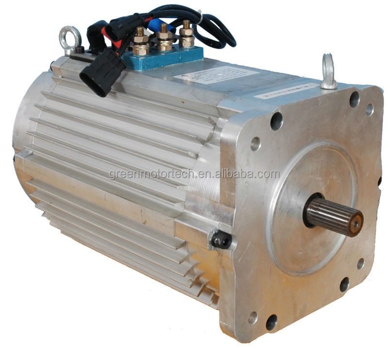 Electric sightseeing bus motor 96v ac 10kw view ac motor for Ac electric motor repair