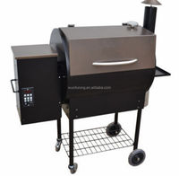 High Quality Vertical Wood Pellet BBQ Grill
