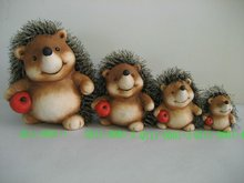 Hedgehog decoration for 2012 QY11-B001-1-2-3-4