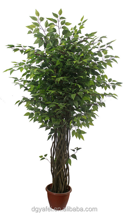 New d coratif r aliste artificielle mini bonsa arbres for Plante verte haute exterieur