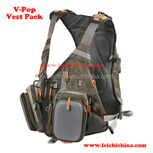hot selling quality fly fishing vest pack