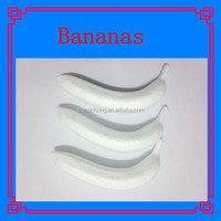 styrofoam bananas shapes for DIY decoration