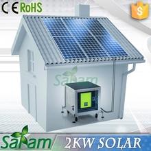 2KW Solar System PV Solar Panel Price
