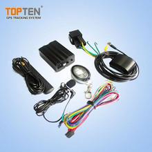Caliente venta TK103 gsm sistema de alarma para automóviles y camiones con voz monitoreo, soporta dos hablando función