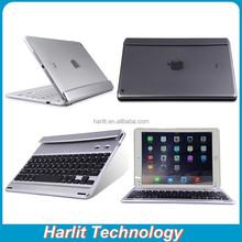 Rotating Bluetooth Keyboard Case For iPad Air 2, Bluetooth Keyboard With Rotatable Station For iPad