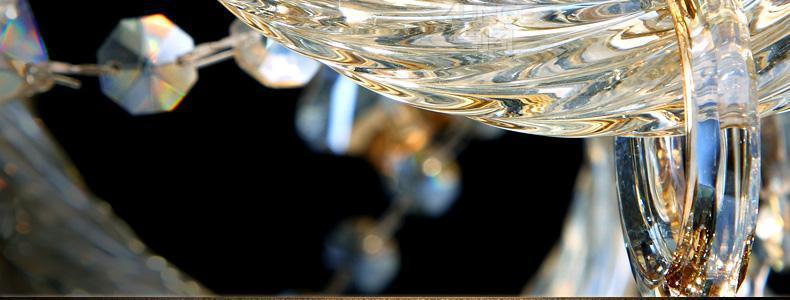 moderne kristallen kroonluchter verlichting in huis lusters de ...