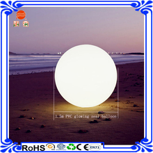 1.5-2m large cheap inflatable led advertising balloons supplier for outdoor event