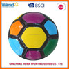 colorful soccer ball for promotion from BSCI ICTI factory