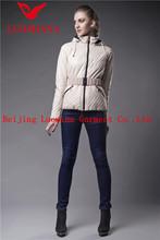 trendy thin women down jacket spring coat wholesale