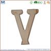 New cheap unfinished decoratve wooden alphabet letters wholesale