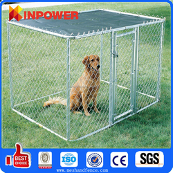 Dog Kennel Fence / New design unique galvanized cheap chain link dog kennels