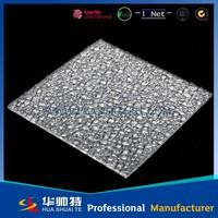 Transparent PC solid board in polycarbonate plastics