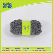 chinese factory good sales high quality pure chunky wool for hand knitting