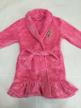 Kids' Coral Fleece Robe (Stocks)