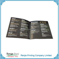 Glossy Paper Cheap Creative Fliers Printing