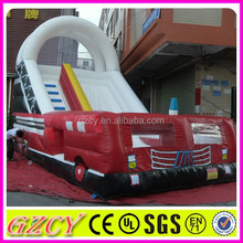 EN14960 with inflatable fire truck slide